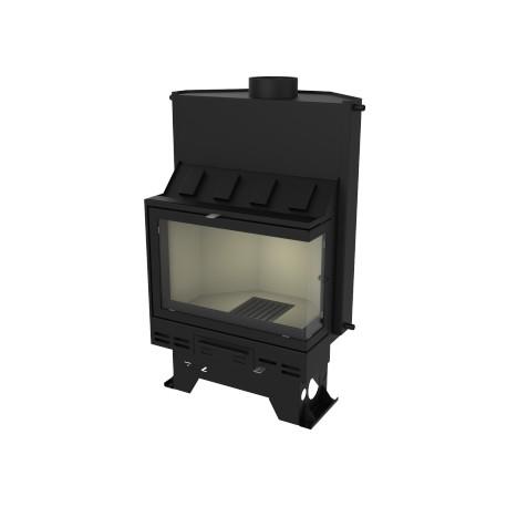 Hot water fireplace insert  A 1107 V