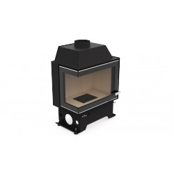 Hot air fireplace insert  F 108